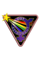 Exclusive mission patch with iron-on backing ideal for flight suits and anything else you can dream of!