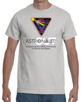 Out Astronaut T-Shirt: Empowering the LGBTQ Community in Science an Space